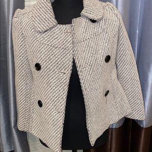 Jacket with Modified Herringbone Pattern